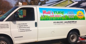 Matt's TURF and More Van